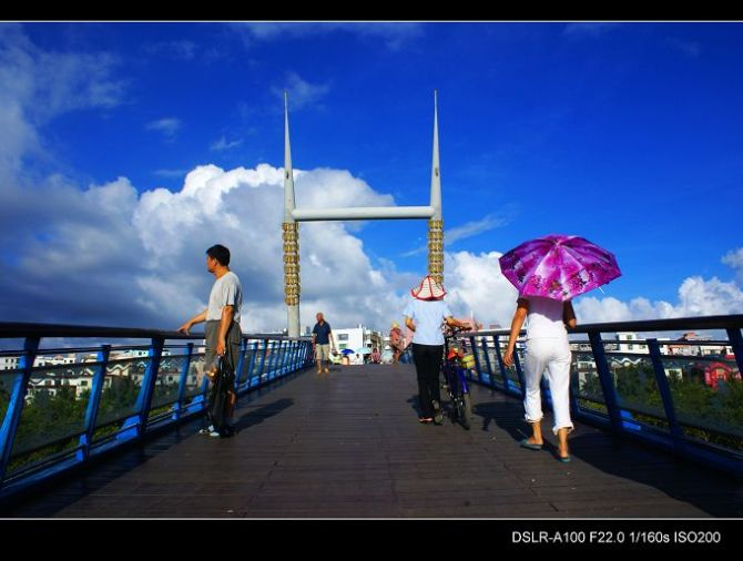 中国最南边的滨海城市:美丽三亚实拍(文图)…… - 刚峰先生 - 天涯横呤