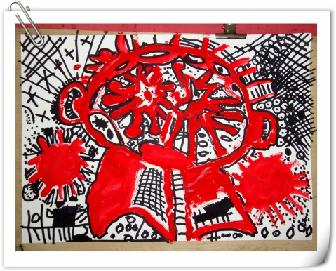 【转载】小大师的作品 - miumiu - miu 的唯美田园·幼儿美术