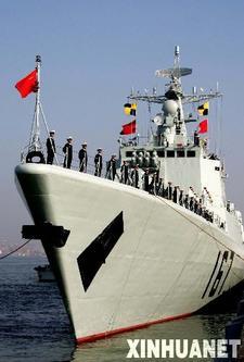 相隔百年, 中国军舰再度访日 【编辑】
