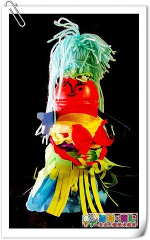 童画童心08秋季启蒙B-1班美术活动9——洋娃娃?瓶娃娃! - 童画-童心儿童美术 - 童画-童心儿童美术