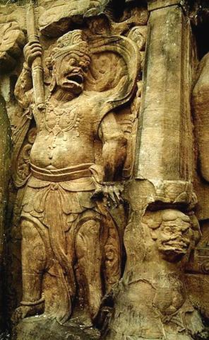 中国石刻佛像之美欣赏 一 大足石刻图片