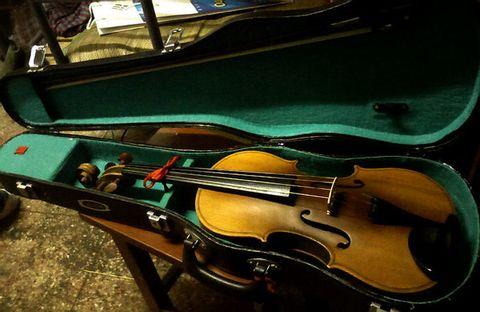 My First Violin - 骏海 - 骏海的博客