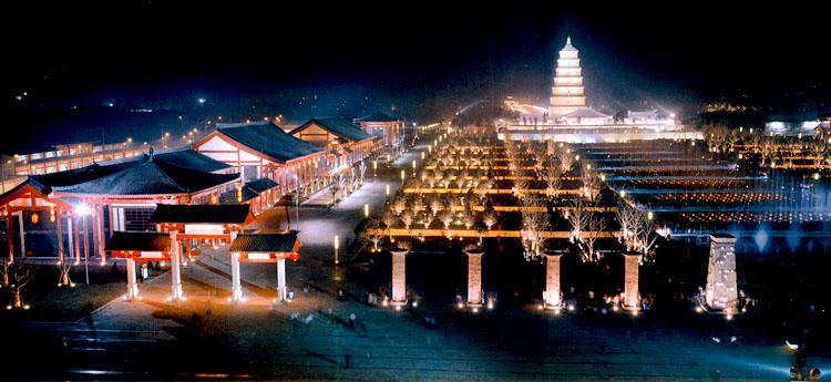 梦回唐朝---西安大雁塔北广场景观规划设计