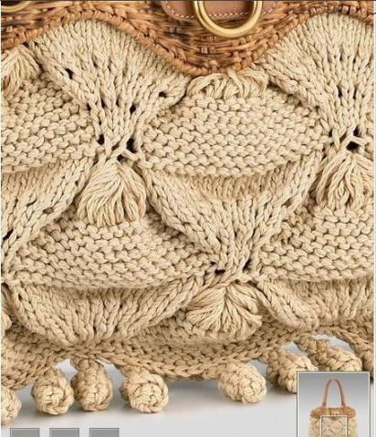 引用 [多图]钩织漂亮包包(带图解) - 阿明的手工坊 - 千针万线