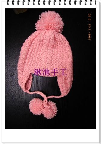 送朋友女儿的护耳帽 - 弯弯妹妹 - 弯弯妹妹