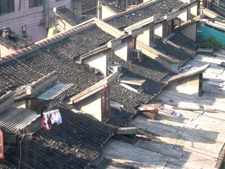 """老虎窗:旧上海的""""呼吸器官"""" - 张闳 - 张闳博客"""