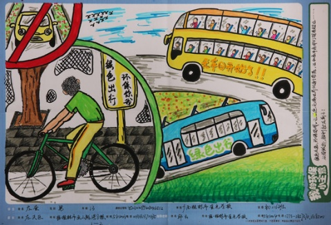 【转载】2008中国儿童环保绘画大赛获奖作品欣赏图片