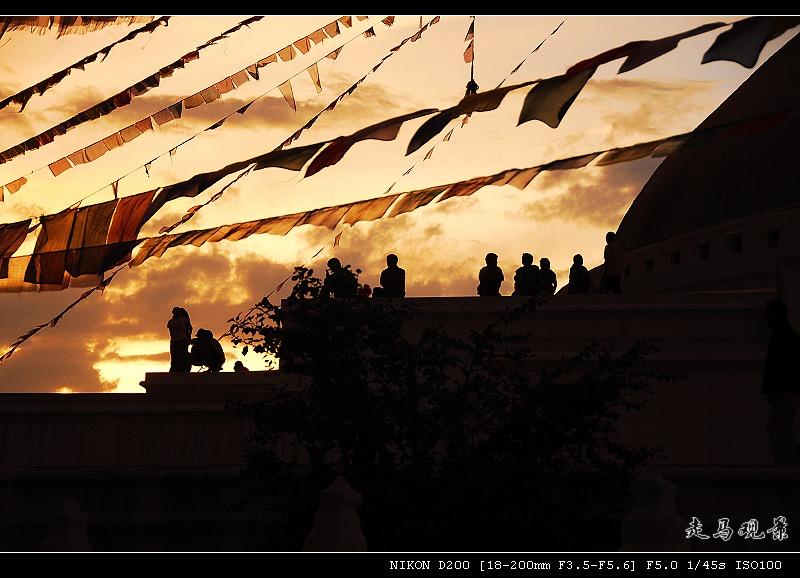 雪山 湖泊 寺庙____尼泊尔之旅(十一) - 西樱 - 走马观景