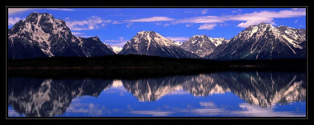 【引用】宽幅雪山风景(摄影) - 真水无香  - 香格里拉 花开的地方