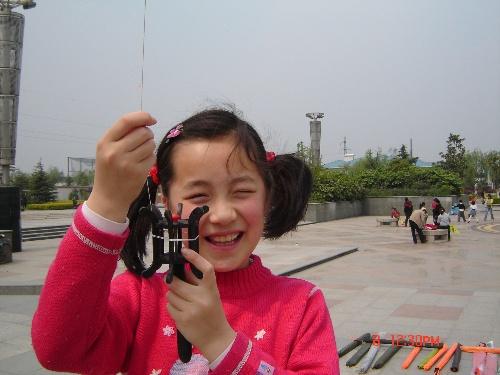 放风筝的女儿图片