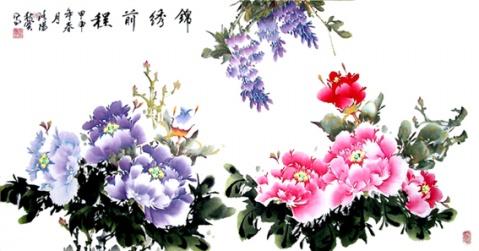 牡丹图-富贵花开  - bhzb.zqb - bhzb.zqb的博客