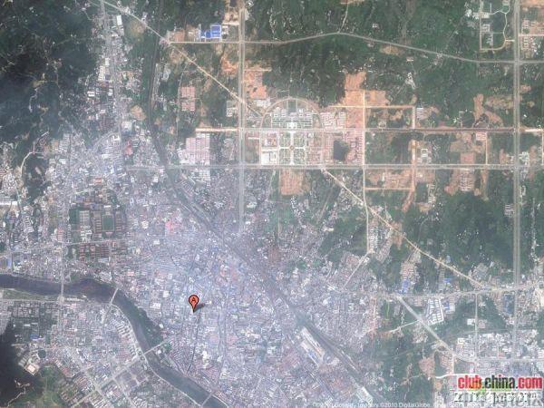 目瞪口呆!看卫星拍摄下的中国鬼城(组图)