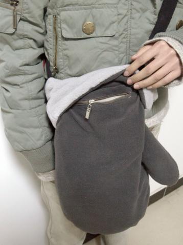 跳房子新款冬日暖手包包 - 跳房子 -