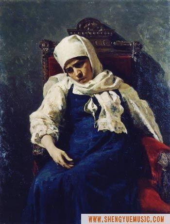 列宾的人物肖像画作品欣赏(原创) - 粉画家吴锡安(亚亚) - 粉画家吴锡安(亚亚)