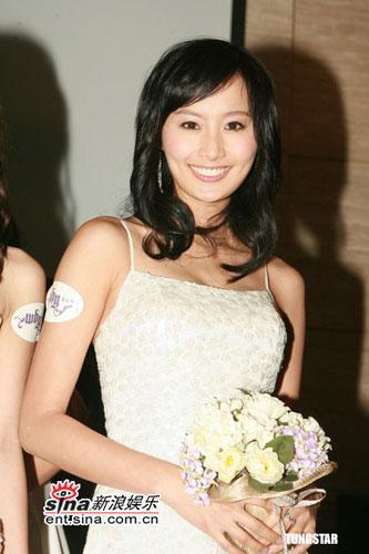 陈法拉甜美婚纱图 - 水无痕 - 明星后花园