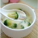 巧手妈妈营养辅食:西兰花洋菇奶油浓汤