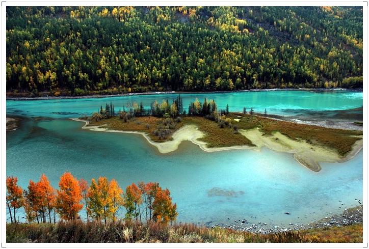 (原创)北疆忆,最忆是秋色…… - 鱼笑九天 - 鱼笑九天