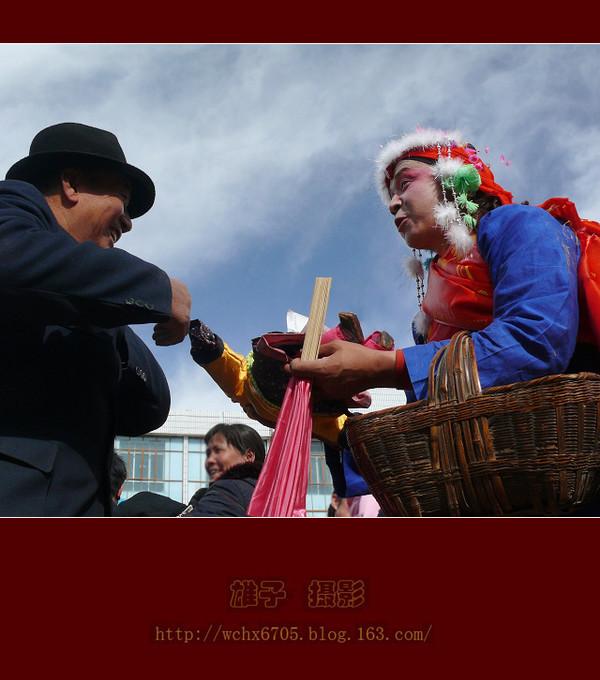 【原创摄影】古城社火之喜神送喜 - 雄子 - 雄子言语