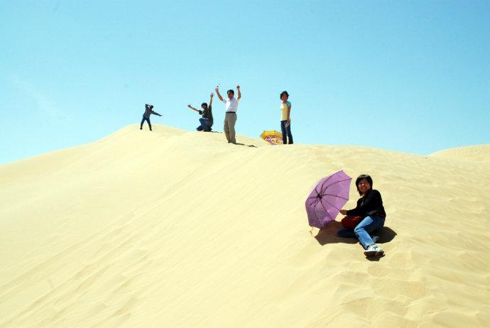 重访恩格贝(2):沙漠 - 刘兵 - 刘兵的博客