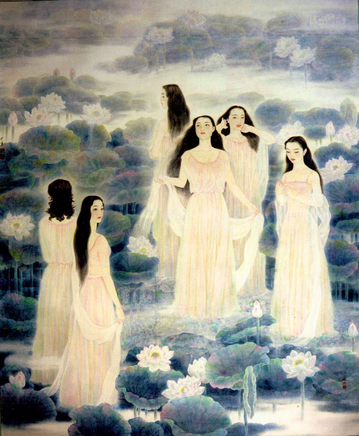 张素玉工笔画欣赏 - lijinguo1963 - lijinguo1963的博客