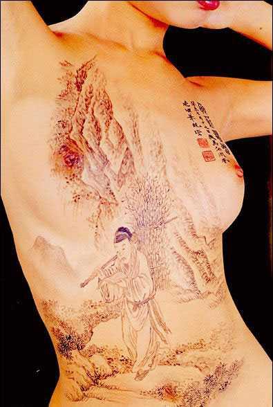 [原创]人体彩绘艺术 - 宝贝我的爱人 - 宝贝我的爱人的博客