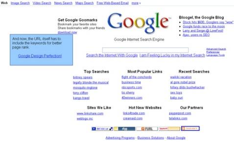 让我们亲手设计Google的界面! - 令冲冲 - 飞越梦想