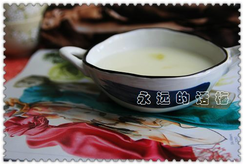 牛奶蛋白羹 - 百木子 - 百木子的博客