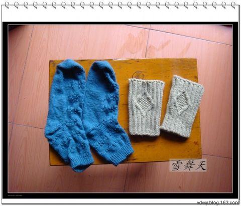 寒冬中的保暖小物-袜子和手套 - 画画 - 我的博客