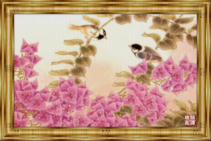工笔重彩花鸟画欣赏(23P) - 鹊华秋色 - 鹊华秋色