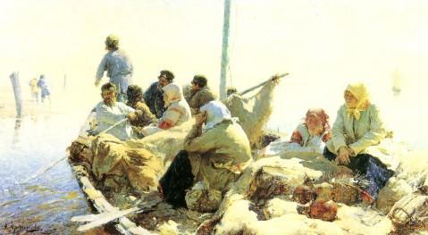 (3)19世纪俄罗斯绘画 - 天高.我翔 - 艺术世界