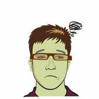 坏老头的卡通头像,献丑了,嘿嘿 - 坏老头 - hlt50的博客