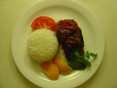 今晚巫家饭:简约猪排饭的全景在这里 - 巫昂 - 巫昂智慧所