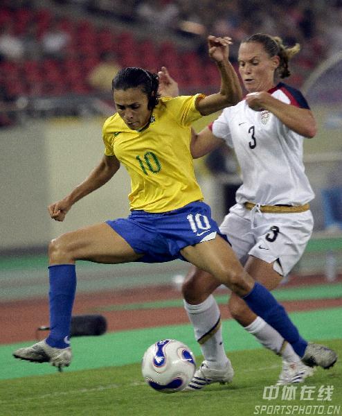 图文-[女足世界杯]美国VS巴西玛塔无人能敌