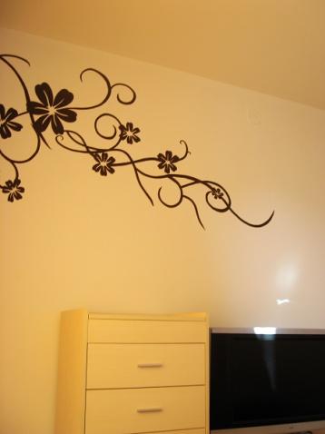 刚做的墙绘 - 乐凡 - 乐凡的小窝
