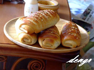 豆沙面包给我带来好心情(原创) - 可可西里 - 可可西里