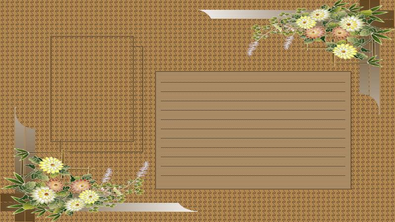 音画边框空白模板素材