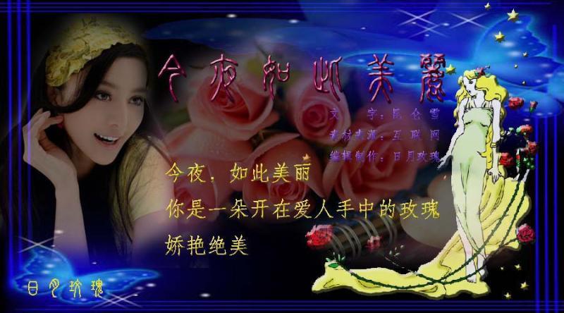 今夜如此美丽(清海) - yangwei8240 - 浙江省义乌市娇子1对1中心欢迎你