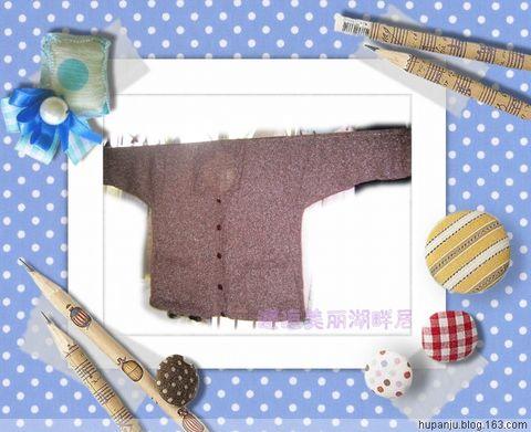 给老妈织开衫(完工) - 湖畔居 - 湖畔居的博客