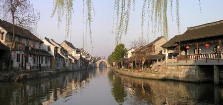 城市地理的约稿《糯米苏州街》 - cuimanli - 崔曼莉(京城洛神)