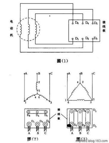 三相异步电动机的接线
