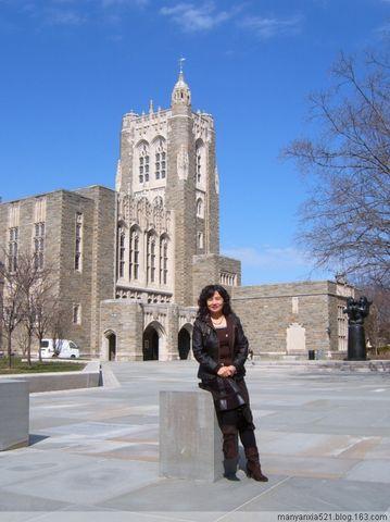 我的赴美日记【14】亲临普林斯顿大学 - 叶红 - 给自己一个理由,让自己活得更精彩