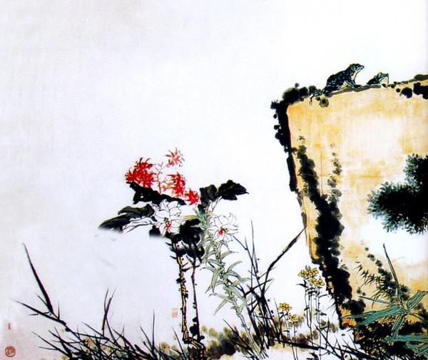 李可染作品欣赏3  - 香儿 - .