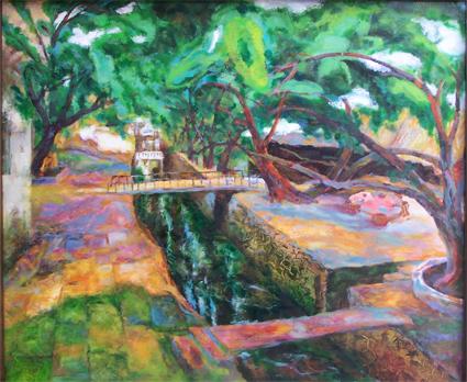 八月的浪漫(谢金田画展前言) - 应歧的油画风景 - 应歧的油画风景