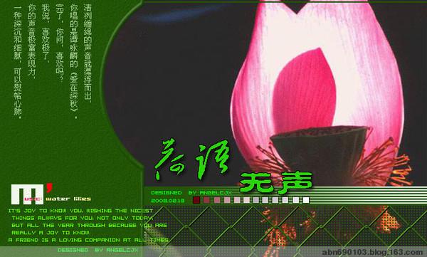 2009年8月26日 - 雁月秋菊 - 流泪的风......
