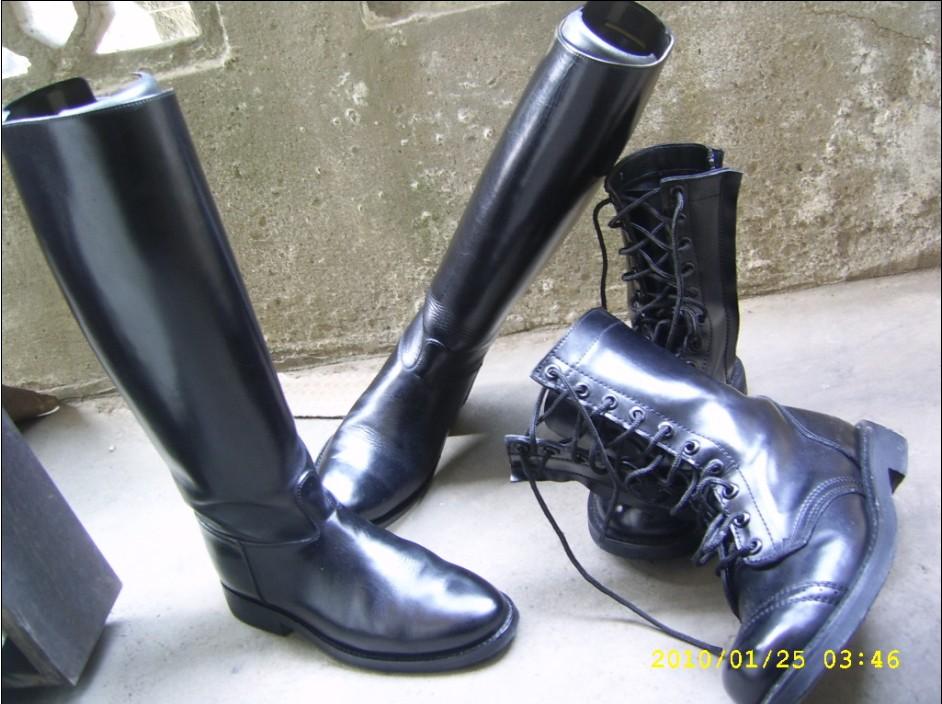 靴视角 - 景军 - 制服与皮革天地