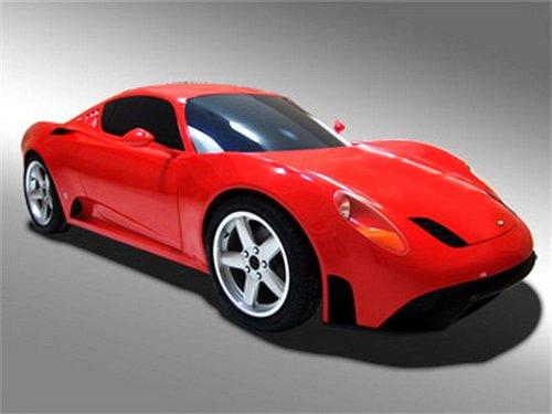 碳纤维车身 限量版法拉利概念车实拍曝光 - 听雪 - 听雪。。。的声音