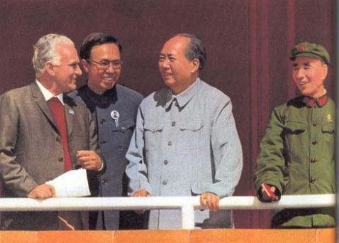 毛主席和林副主席生前珍贵合影 - 闻一多红烛书画院 - 闻一多红烛书画院