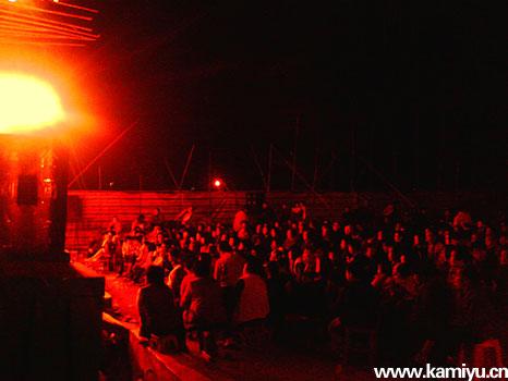 企石江边村口的大戏 - ☆哎呀星星☆ -
