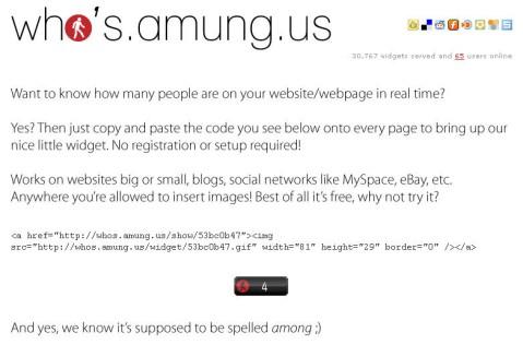 想知道多少人在你的博客上吗 - 军刀 - 军刀的博客