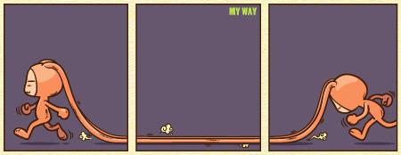 [漫画壁纸]潘斯特--yes,thats my way - 崇子 - 崇子潘斯特